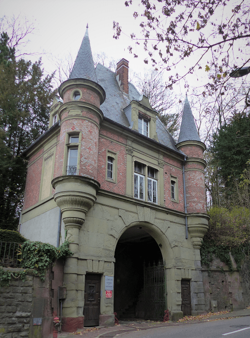 Photo entrée de l'ermitage rue Gambetta Mulhouse