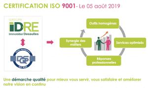 schema certification et norme iso 9001 processus client et satisfaction idre immobilier desaulles