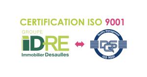 agence immobiliere certifiée norme iso 9001 entreprise de confiance et sérénité