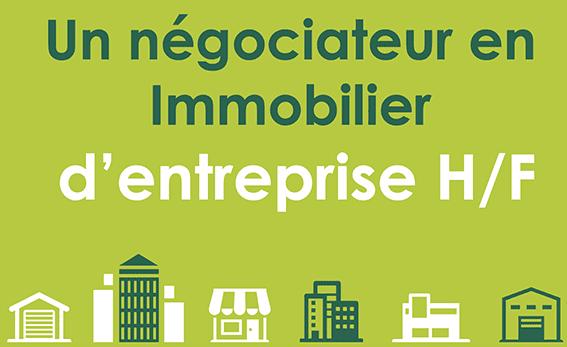 Conseiller/ Négociateur en Immobilier d'Entreprise